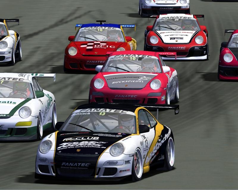 Turn 1 Rennen 1... bitte nutzen Sie das Reißverschluss-System